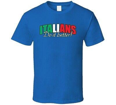 Team Italy Italians Do It Better Soccer T