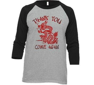 Chinese Thank You (Thank You Come Again Chinese Dragon Food T Shirt T)