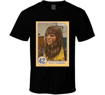 Scott Howard Teen Wolf Trading Card Retro T Shirt ()