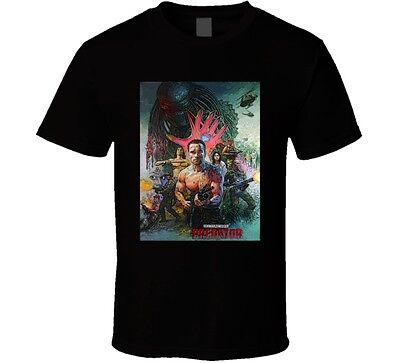 Predator Arnold Schwarzenegger Movie Original Fan T Shirt