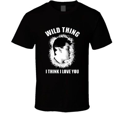Major League Wild Thing Think I Love You Movie Replica T Shirt - Wild Thing Major League