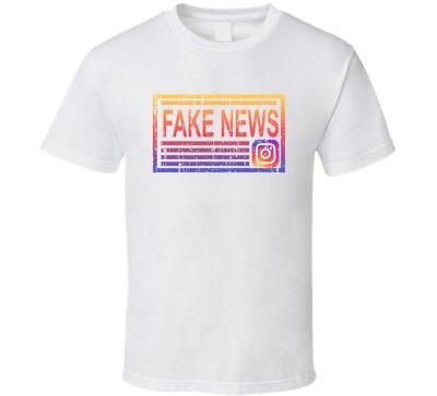 Fake News Vinny Jersey Shore Instagram Funny Social Media T Shirt](Funny Jersey Shore)