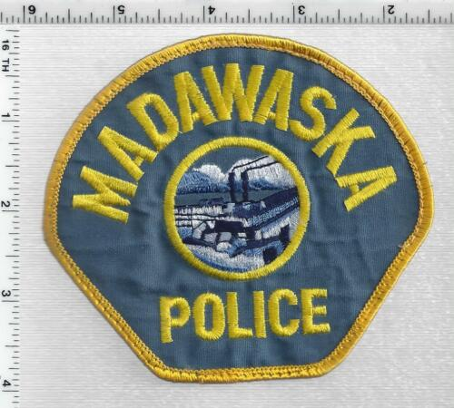 Madawaska Police (Maine) 3rd Issue Uniform Take-Off Shoulder Patch