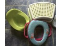 IKEA potty, IKEA stool, Peppa Pig training toilet