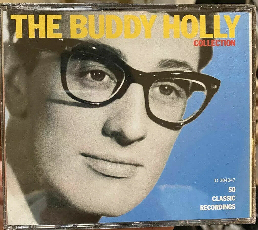 The Buddy Holly Collection 2 CD SET 1993, MCA Columbia House 50 Classics GOOD - $24.99