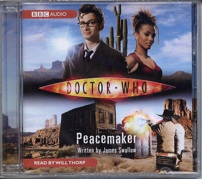 Dr Doctor Who Peacemaker Audio Cd Mint David Tennant