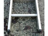 Youngman 5.98 m 2 stage aluminium ladder