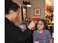 Face painter, Balloons and FAIRY/UNICORN MAKE OVERS !!