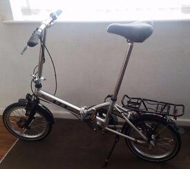 NYX Fold Bike ( Bicycle ) 3 Gears Light