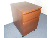 Filing Cabinet on Casters - Stand Alone or Under Desk