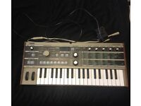 Korg Microkorg w/original power supply and vocoder microphone