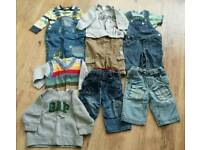 Baby boys bundle 6-9 mths
