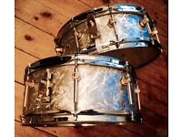 """14""""x5"""" and 14""""x6"""" Abb Handcrafted Snare Drums"""