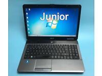 Acer Fast HD Laptop, 320GB, 4GB Ram, Window 7, Microsoft office, Very Good Condition, Antivirus