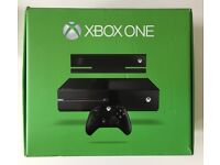XBOX ONE 500GB W/ KINECT, CONTROLLER & GAMES BUNDLE (ORIGINAL BOXED)