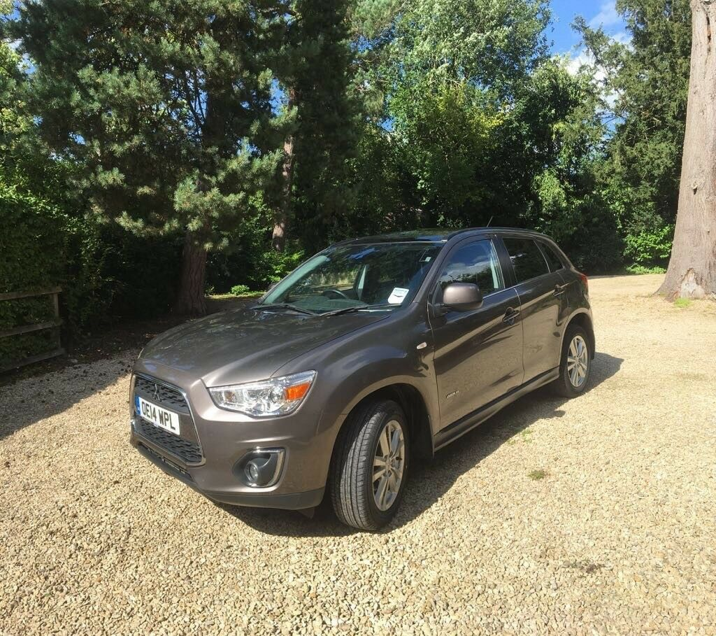 2014 Mitsubishi ASX Fully Loaded Brown with Black Leather Interior Full Service History