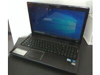 """LENOVO G570, 15.6"""", Pentium B960, 6GB RAM, 500GB HDD, Win 10 Pro"""