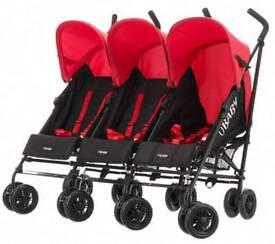 OBABY Triple Stroller