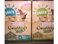 Country's Best Chicken / Hen treats / food; 2 x 1kg boxes