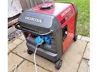 Honda EU26i Inverter Generator - With Honda wheel kit - Fully serviced