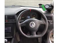 MK4 Golf R32 flat bottom steering wheel