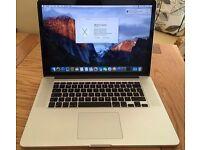 Apple Macbook Pro intel core i5 8gb ram 256 ssd hdd