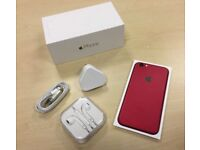 Boxed Red Apple iPhone 6 64GB Factory Unlocked Mobile Phone + Warranty
