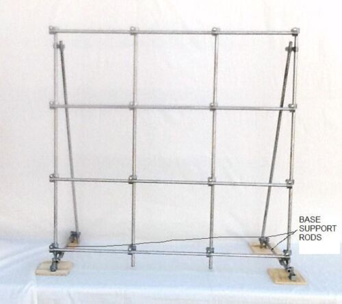 """LAB FRAME, ROTOCON BRZ33, 1/2"""" SOLID 304 S/S RODS"""