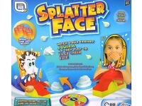 Brand New Splat Face Family Board Game Like Pie Face Hours Of Fun Kids Childrens Toys