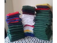 Kids sweaters, t-shirts and jumpers can be sold in bulk or single. All items are new.