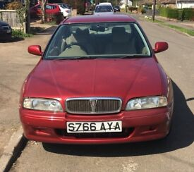 Rover 600 red Reliable, great engine, good runner.