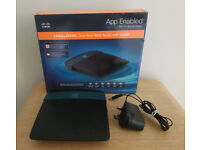 Cisco Linksys EA2700 N600 wireless Router with DD-WRT installed, boxed