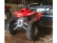 Honda 250ex quad project
