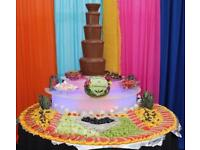 Commercial 7 tier chocolate fountain sephra
