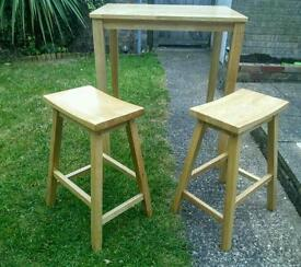 Table and 2stools