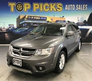 2013 Dodge Journey LOW MILEAGE!...Sunroof, V6, Rear A/C, NAVI!