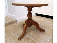 Circular Pine Table