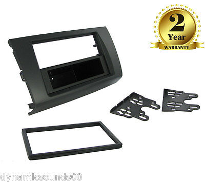 CT24SZ02 Black Single or Double Din Fascia Panel Adaptor For Suzuki Swift 2006