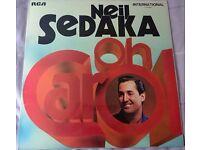 Neil Sedaka Oh Carol Vinyl Album LP (RCA INTS1131)