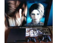 Sony PS3 , games, controllers in perfect working and cosmetic condition