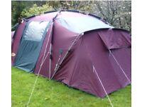 Khyam rigid dome tent plus extras