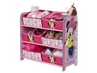 Minnie Mouse kids storage like new