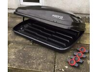 HAPRO Side Opening Car Roof Box with Fixing Clips