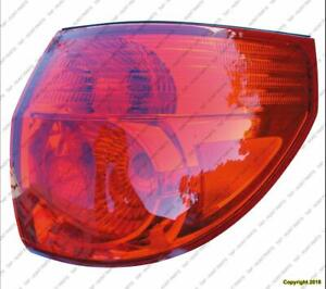 Tail Light Passenger Side High Quality Toyota Sienna 2006-2010
