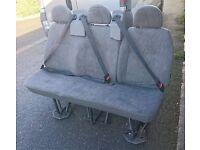 ford transit 2 seater also fit other vans vivaros