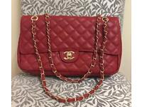 Beautiful and Elegant Chanel Bag in Red