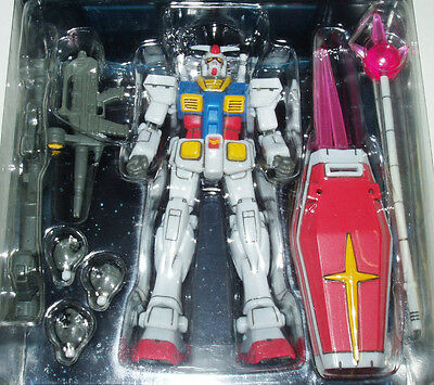 Mobile Suit Collectible Action Figure Bandai 1 Year War 0079 RX-78-2 Gundam Set