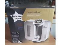 Tommee Tippee Perfect Prep Machine - Brand new, in box, begging to be used!
