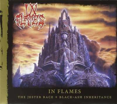 - IN FLAMES: The Jester Race + Black-Ash Inheritance (Reissue) CD