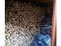 10kg bags kiln dried Ash wood for wood & multifuel stoves